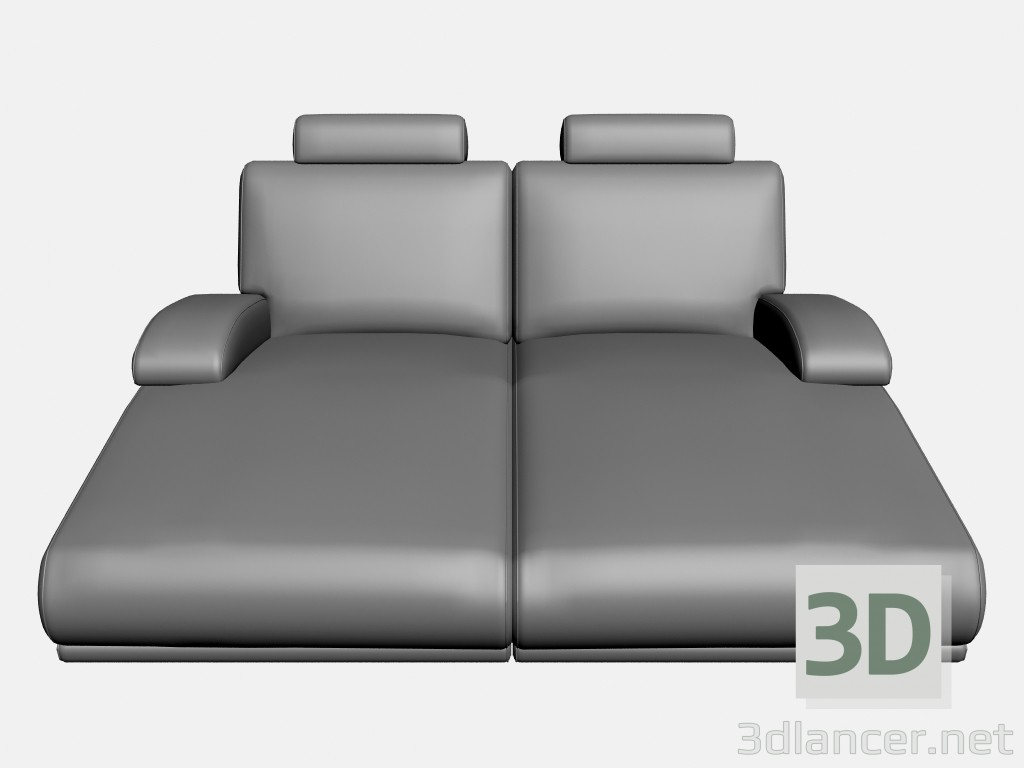 3d model Sofa Plimut (option 3) - preview