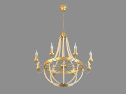 Chandelier A8957LM-8BZ
