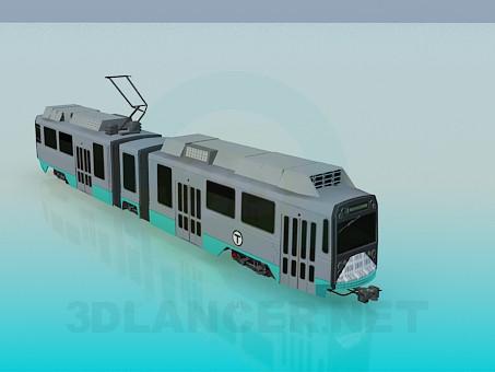 3d моделирование Трамвай модель скачать бесплатно