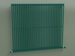 Radiatore verticale ARPA 1 (920 30EL, verde opale RAL 6026)