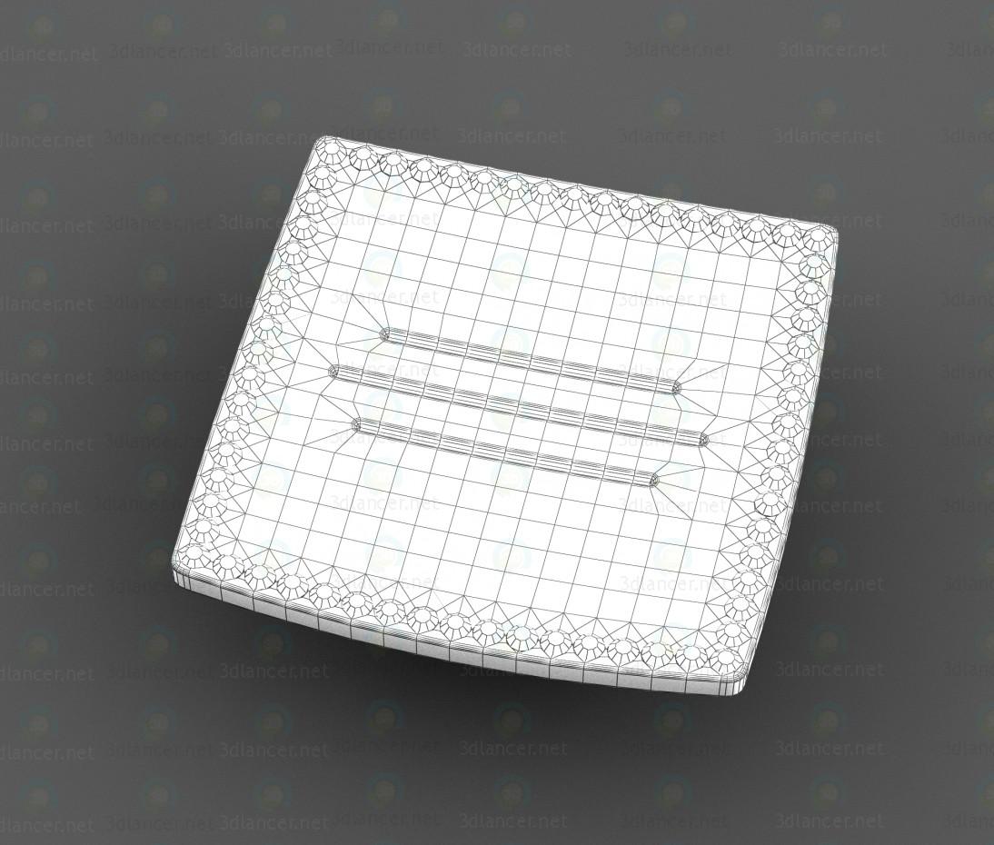 3d Pen Alliste, F764.032.CP, chrome + gold model buy - render