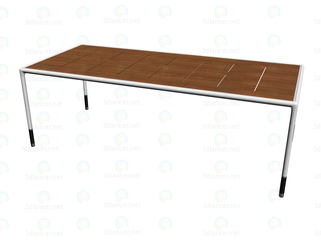 3d model table tst220l b b italia collection springtime - B b italia link table ...