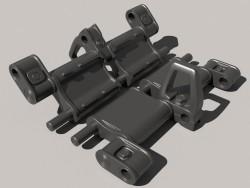 Crawler Track t-72-80-90