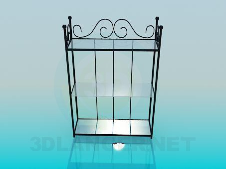 3d modeling Rack forged model free download
