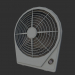 3d model Desk Fan - preview