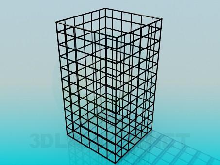 3d моделирование Клетка модель скачать бесплатно