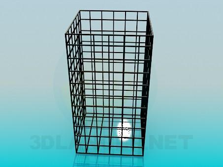 3d модель Клетка – превью
