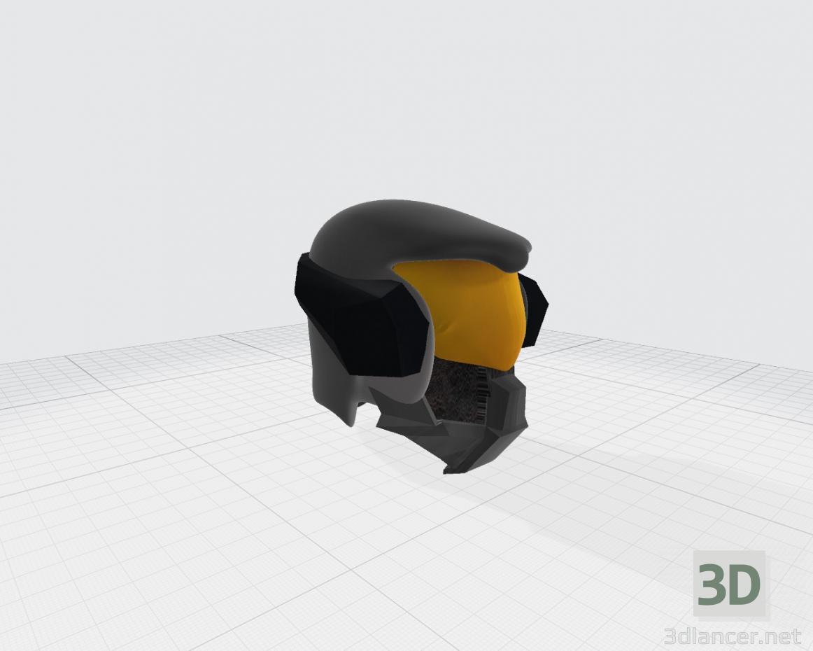 3d Helmet future game model buy - render