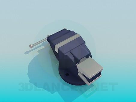 3d модель Слесарные тиски – превью