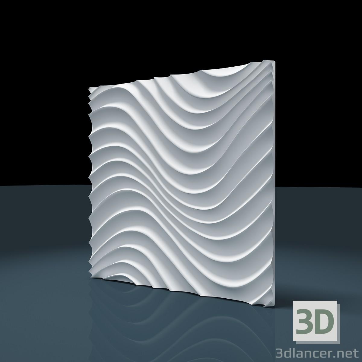 "3d modeling 3D panel ""ATRIA"" model free download"