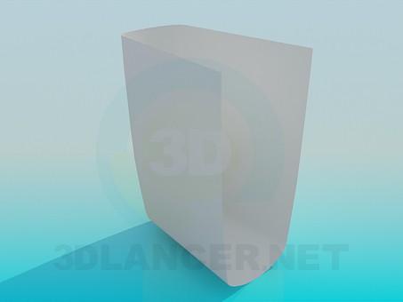 3d model Foot wash-basin - preview