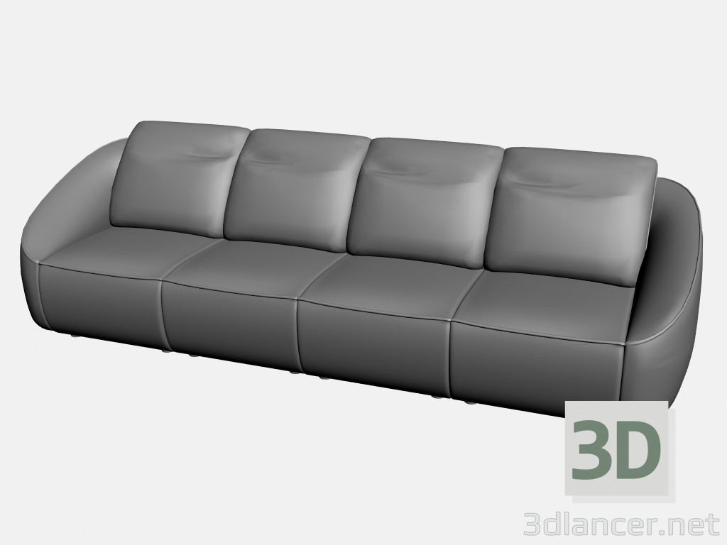 3d modeling Sofa Rim (option 2) model free download