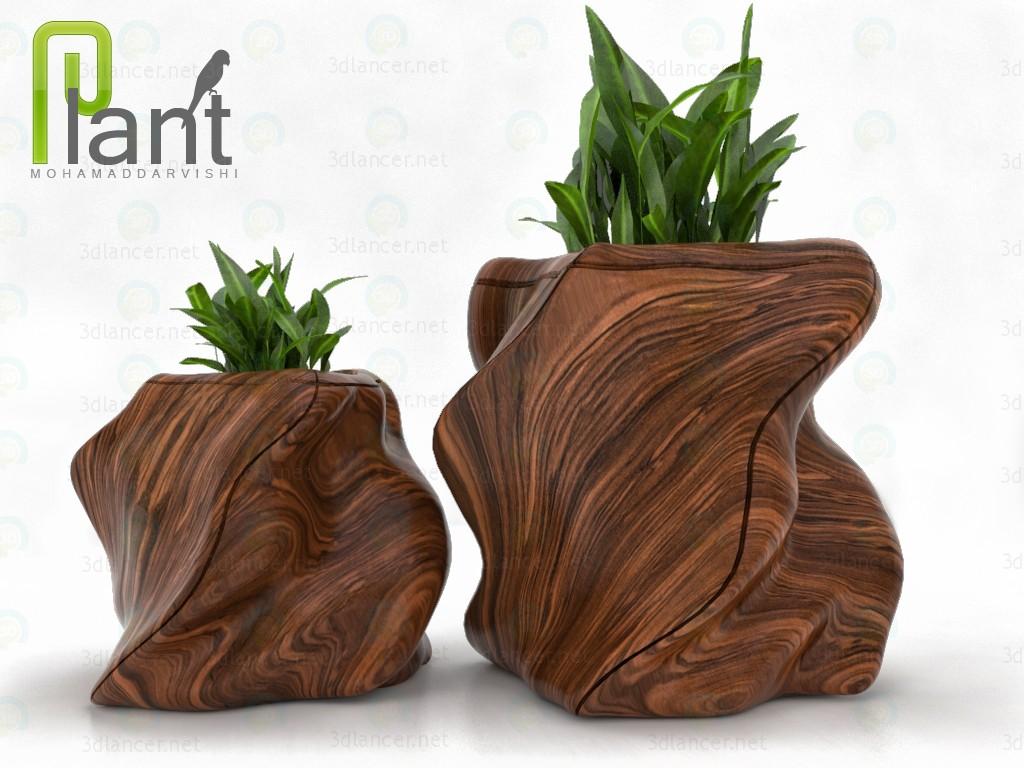 descarga gratuita de 3D modelado modelo planta