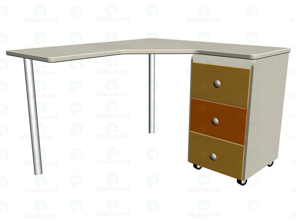3d model Work table LC-418 - preview