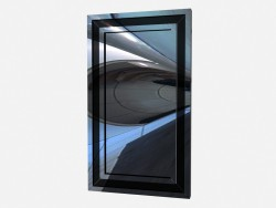 Wall mirror in metal frame Mirror Z01