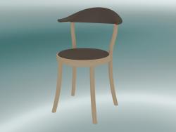 Sedia MONZA sedia da bistrot (1212-20, faggio naturale, marrone terra)