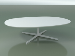 Oval table 0790 (H 35 - 135x100 cm, M02, V12)