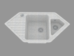 fregadero de la cocina Reflex (ZUX 761B)