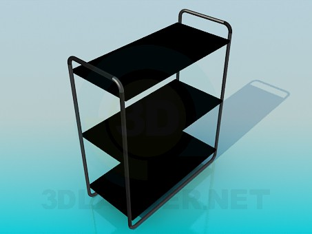3d model Stand for magazines or flowers - preview