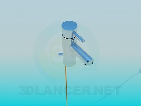 3d моделирование Смеситель для ванной модель скачать бесплатно