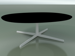 Oval table 0797 (H 35 - 90x108 cm, F05, V12)