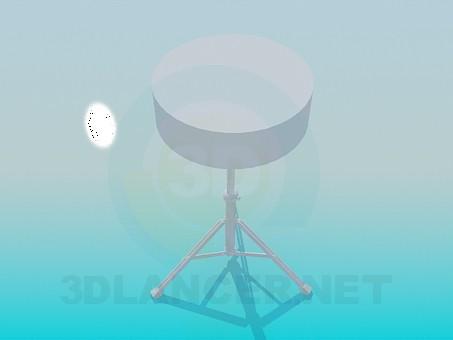 3d модель Табурет – превью