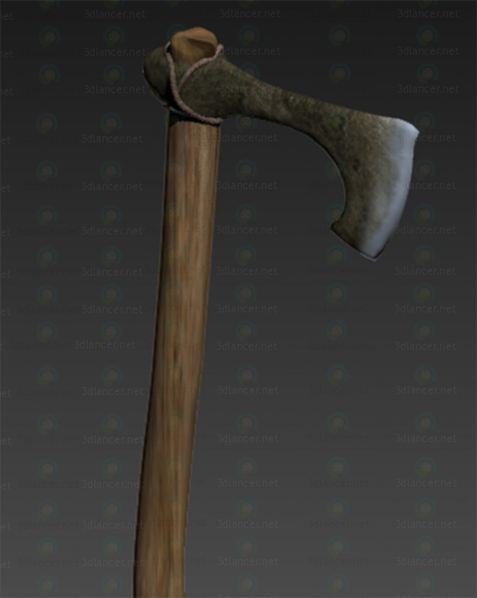 3d Axe model buy - render