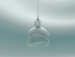 Pendant lamp Mega Bulb (SR2, Ø18cm, 23cm, Clear glass with clear cord)