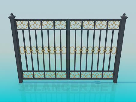 3d modeling forged gate model free download