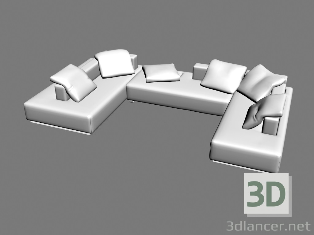 3d model Sofa Split - preview