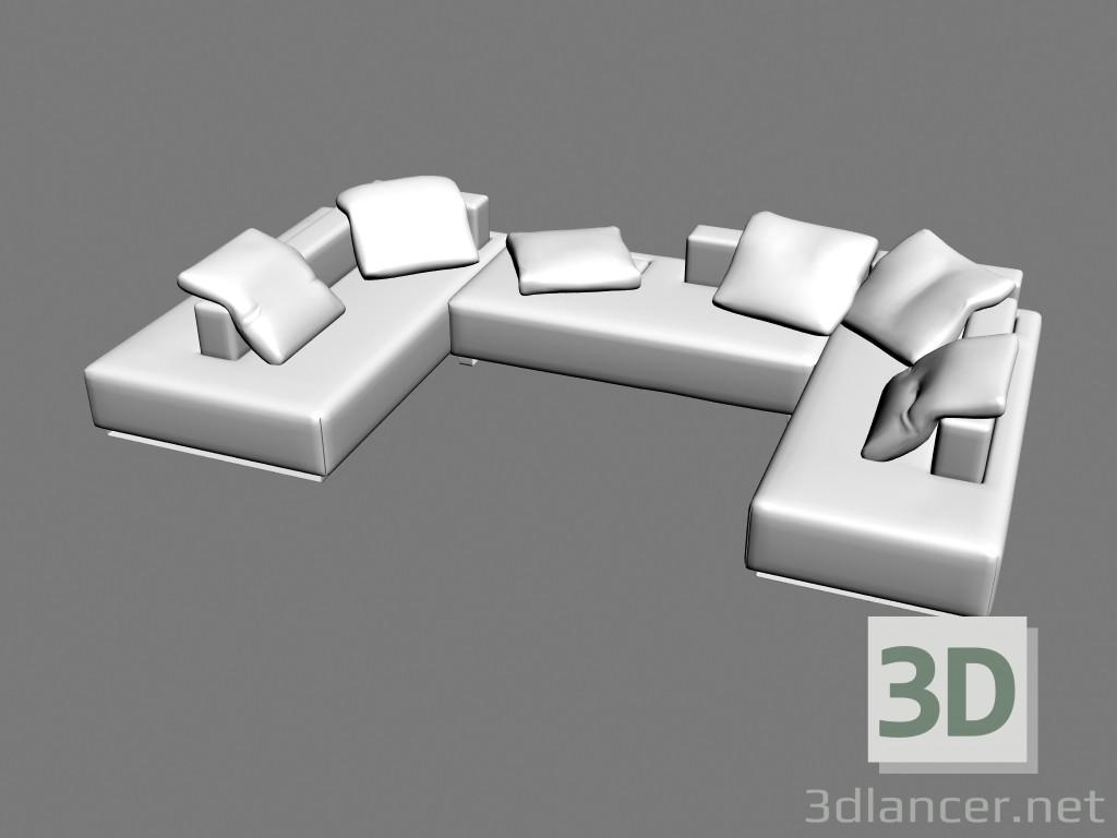 3d model Sofa Split - preview