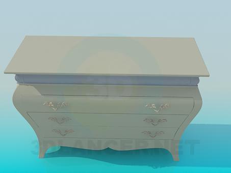 3d моделирование Тумба модель скачать бесплатно
