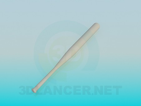 3d model Baseball bat - preview
