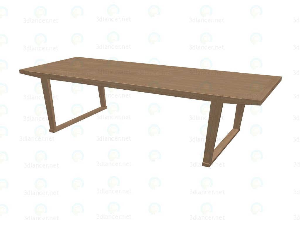 3d model dining table ast29 b b italia collection lucullo for Dining table models