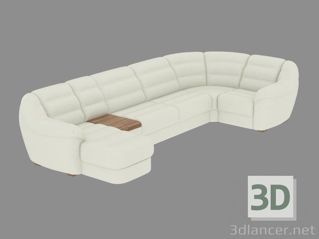 Divano Ad Angolo In Pelle : Gallery of divani soggiorno divani in pelle divano salotto pelle