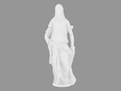 Scultura in marmo Donna velata