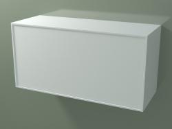 Cassetto (8AUDCA03, Glacier White C01, HPL P01, L 96, P 36, H 48 cm)