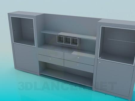 3d model Symmetric set - preview