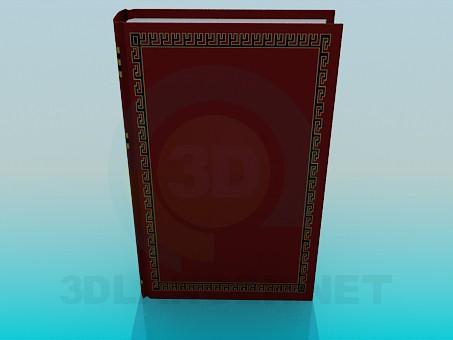 modelo 3D El libro grueso - escuchar
