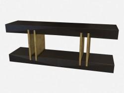 Прямоугольная консоль из дерева в стиле арт деко Norma Z01