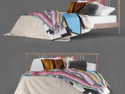 "Bed IKEA ""Rikene"" Boho"