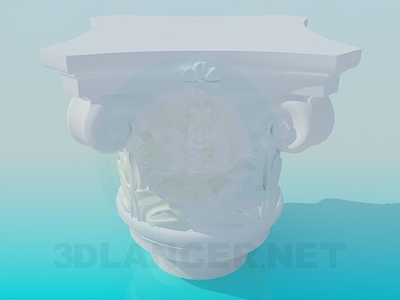 3d model Cap - preview