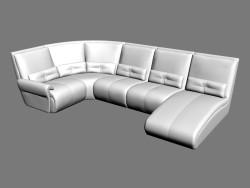 Angolo divano Ustin