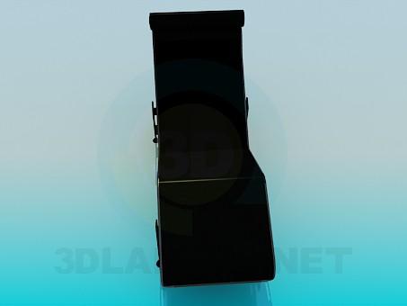 3d модель Топчан – превью