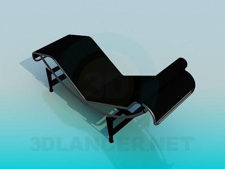 3d model Trestle-bed - preview