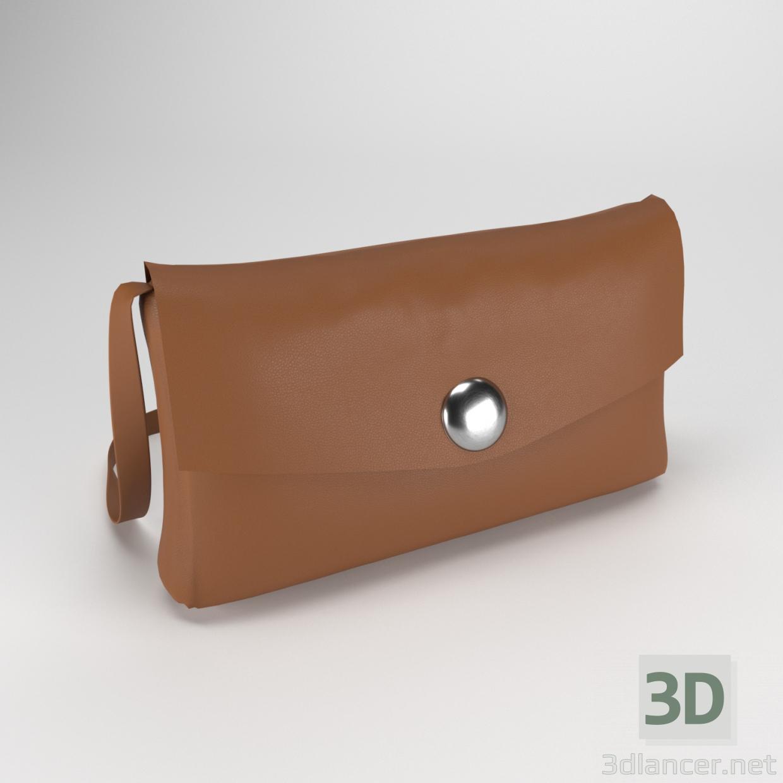 3 डी मॉडल महिलाओं का बैग - पूर्वावलोकन