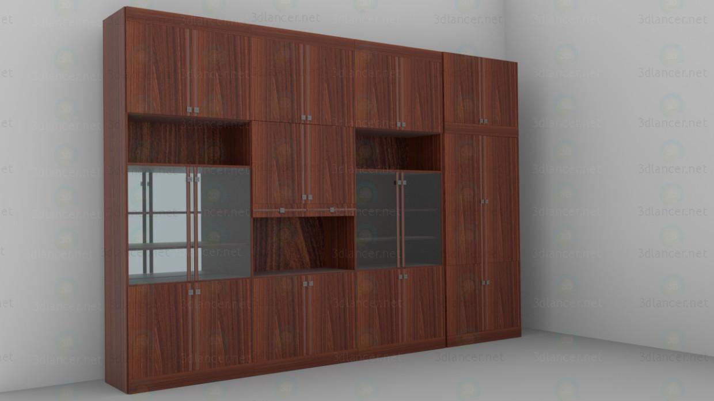3d model Unidad de pared - vista previa