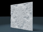 "3D panel ""Baroque"""