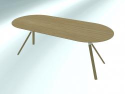 FOURCHE DE TABLE ovale (P128 200X90)