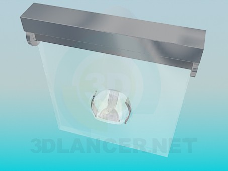 3d model Luminaire with adjustable lighting angle - preview